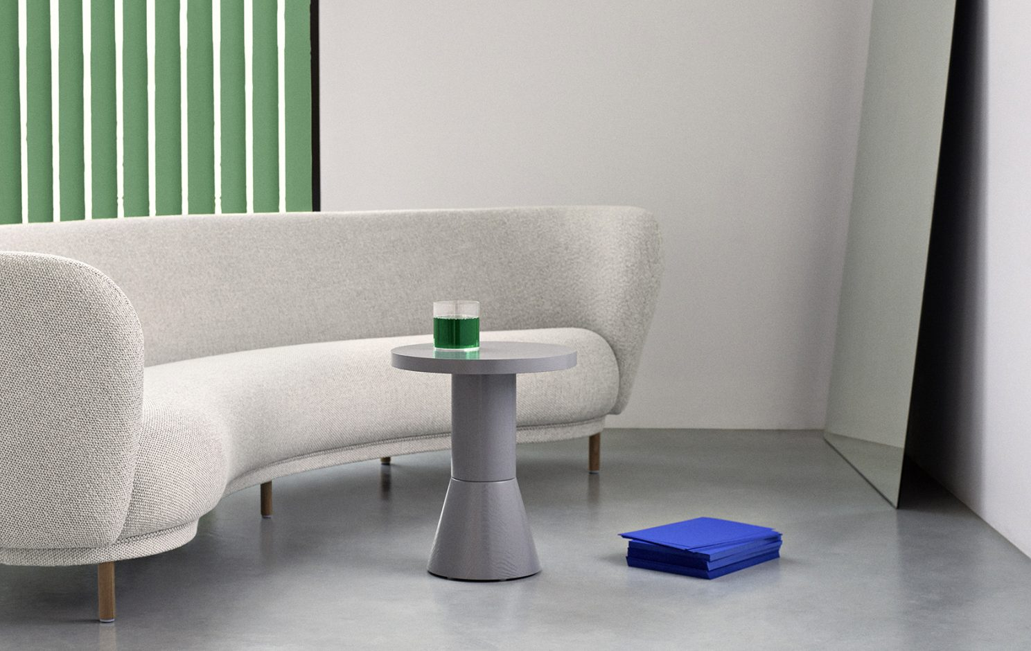 Draft Side Table H580 collection