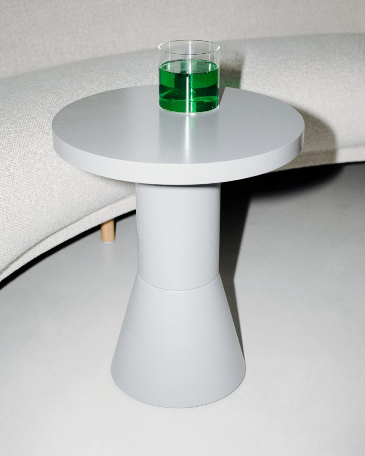 Draft Side Table H580