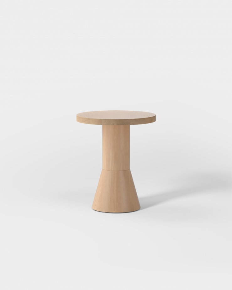 Draft Side Table H480