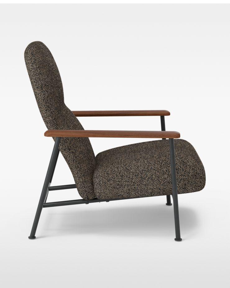 Jump Easy Chair – Oiled Walnut