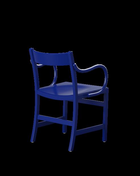 waiter xl armchair ultramarine blue