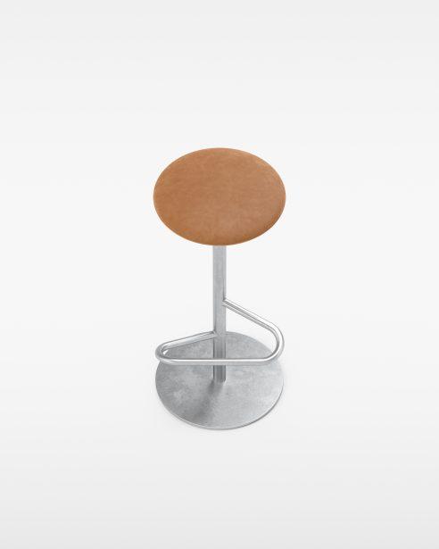 odette stool hot dip GALVANIZED