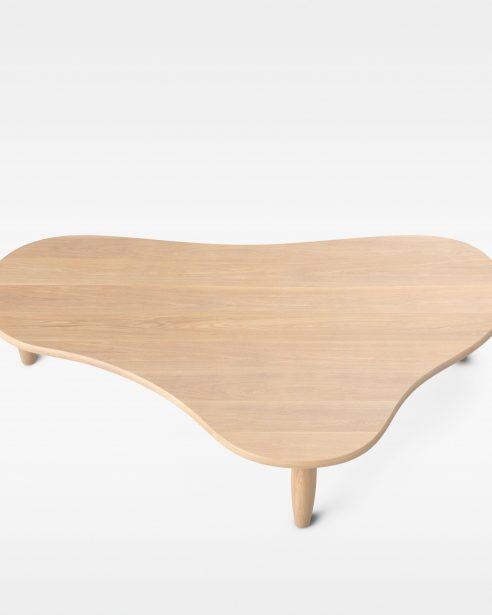 PUDDLE TABLE NATURAL OAK