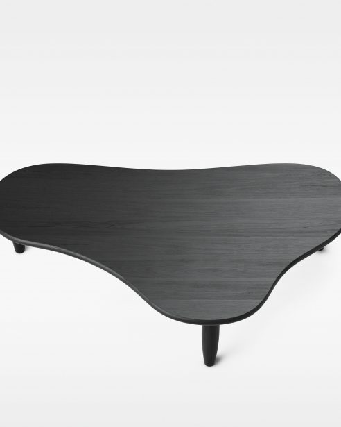 puddle table BLACK STAINED ASH